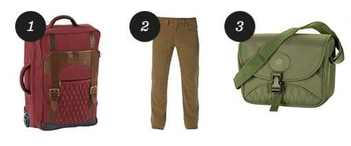 Beretta B1One Travel Trolley Bag, Country 5-Pocket Pants and Cartridge Bag