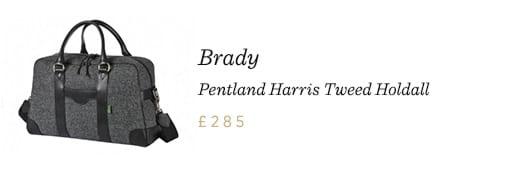 Brady Pentland Harris Tweed Holdall