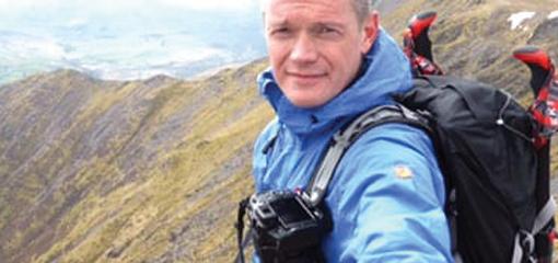 Phil Raisbeck Wearing Fjallraven Jacket and Kanken Bag