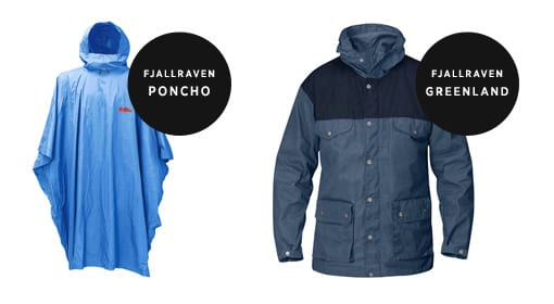 Fjallraven Ponchos and Greenland Jackets at The Sporting Lodge
