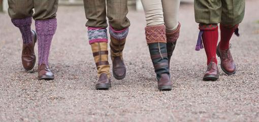 House of Cheviot Premium Socks and Garters