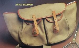 Brady Ariel Salmon Fishing Bag Khaki