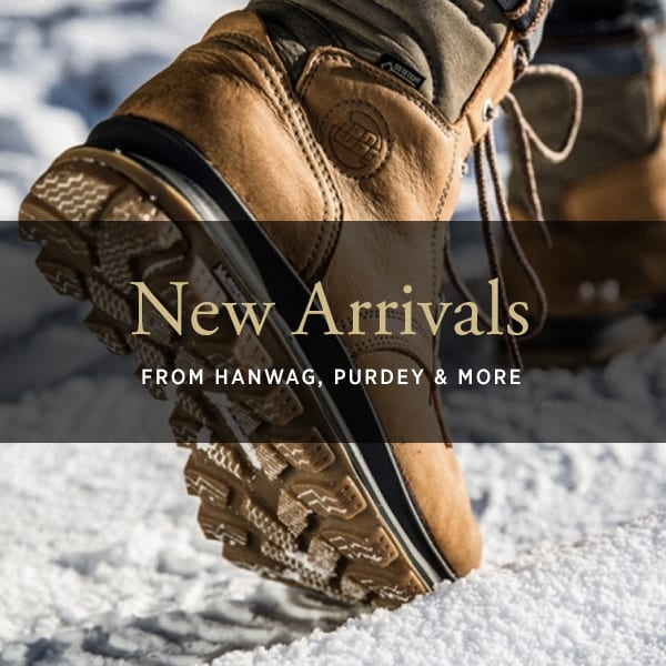 New arrivals from James Purdey, Hanwag and more at The Sporting Lodge