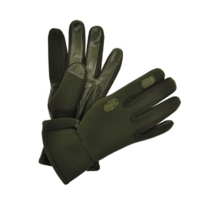 sporting-lodge-neoprene-and-leather-gloves-green