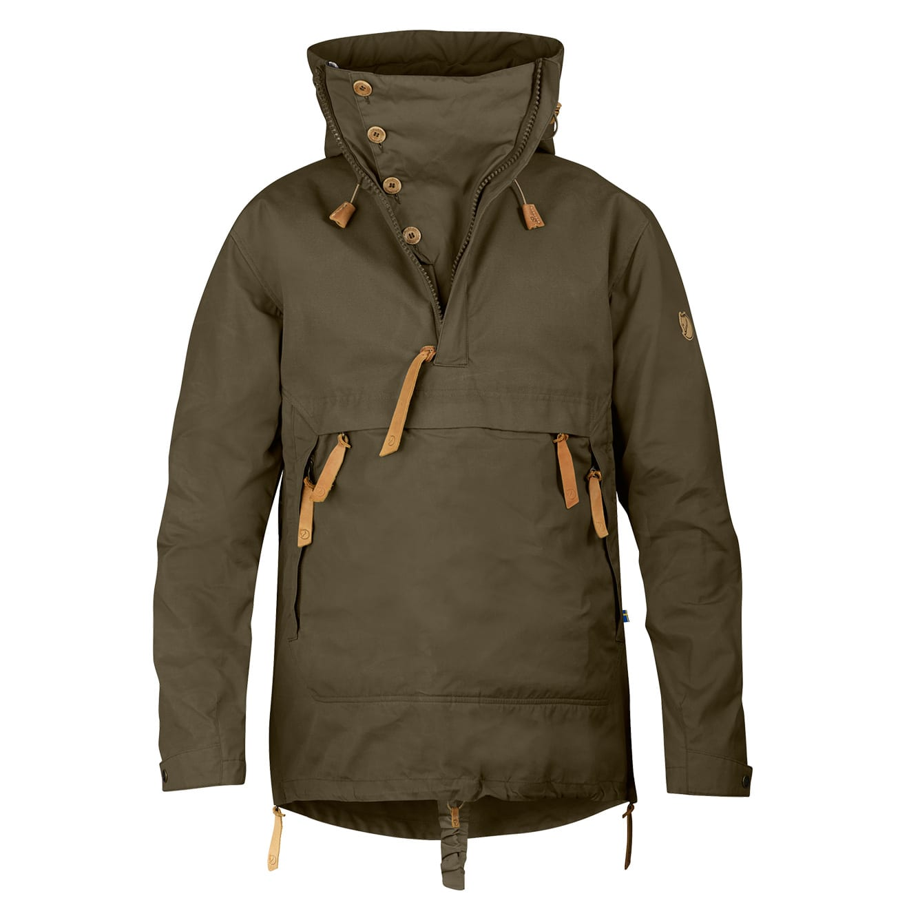 2542752be5 Fjallraven Anorak No. 8 Dark Olive - The Sporting Lodge