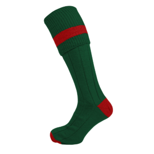 bottle-green-and-red-socks