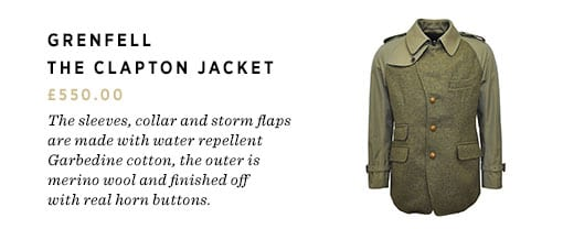 The Grenfell Clapton Jacket