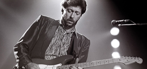 Eric Clapton Wearing the Grenfell Clapton Jacket