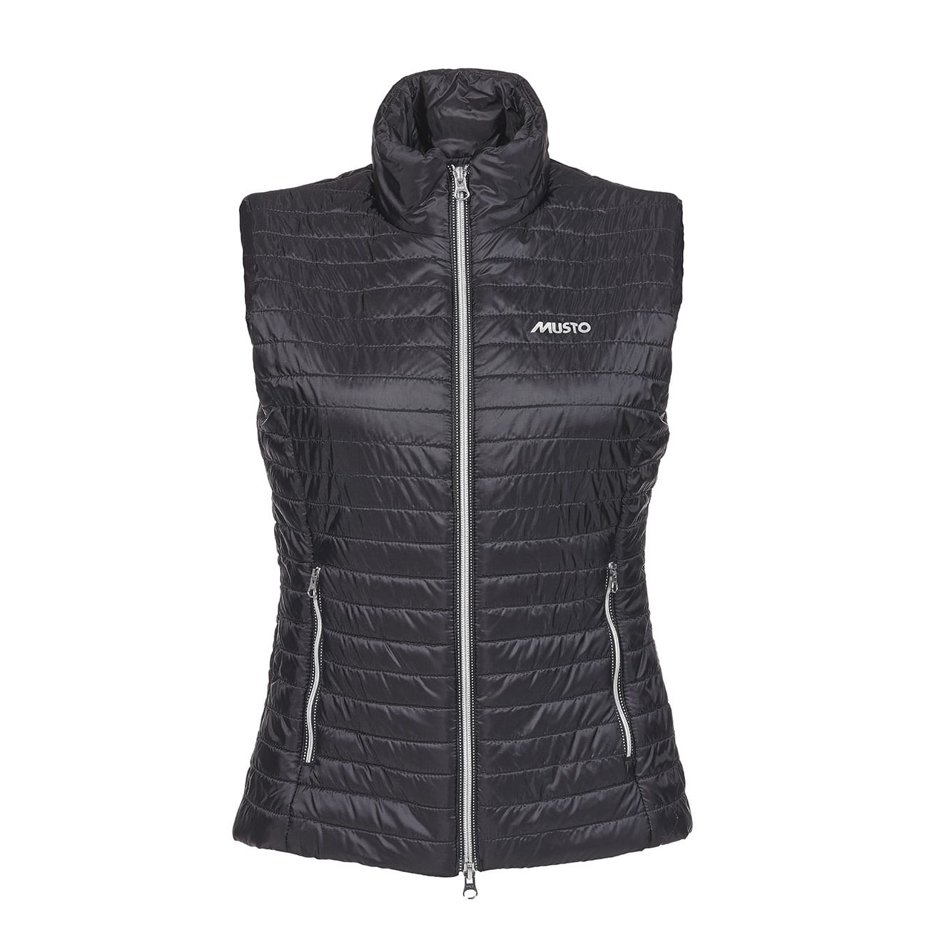 The Crescent Womens Down Gilet is a simple, but warm layer for the winter season. Made in water-resistant fabric with down/feather filling and zipped pockets for small belongings, when you take out your dog or go for a walk.