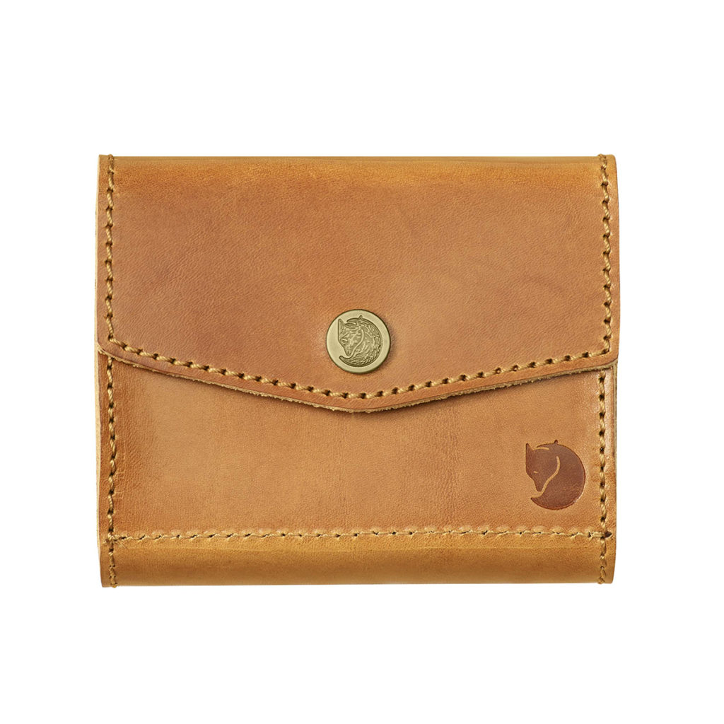 Fjallraven Leather Ammo Case Leather Cognac