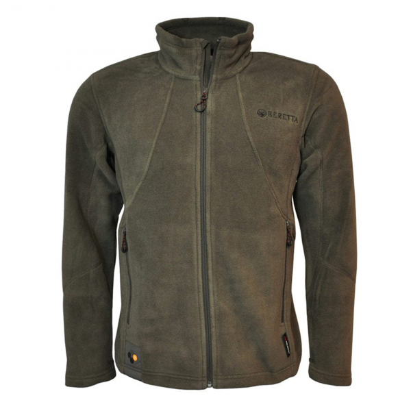 Beretta Active Track Fleece Jacket Chocolate