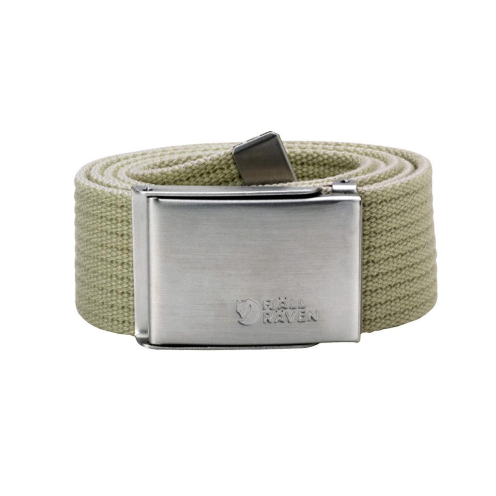 Fjallraven Canvas Brass Belt 4cm Mountain Grey