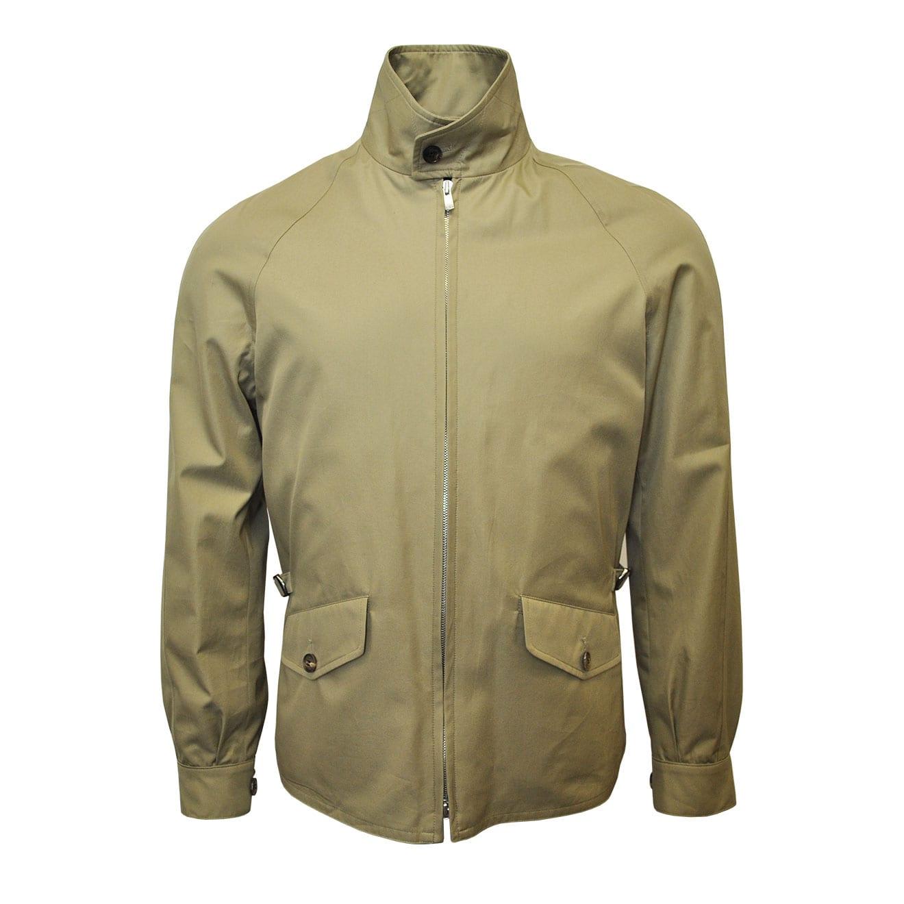 Grenfell Cloth Golfer Jacket Beige