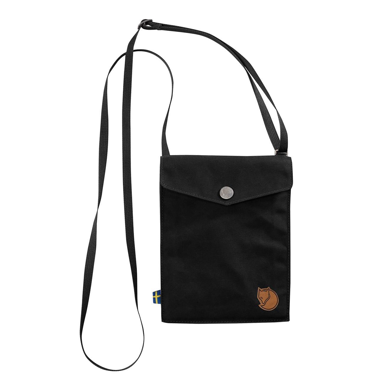 Fjallraven Pocket Shoulder Bag Black