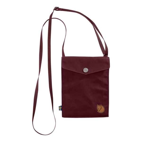 Fjallraven Pocket Shoulder Bag Dark Garnet