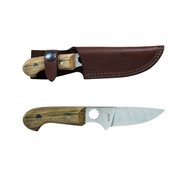 James Purdey Ltd Edition Knife in Spalted Becch 65mm