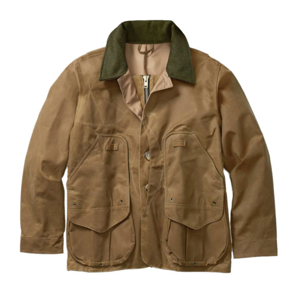 Filson Tin Cloth Field Coat Dark Tan