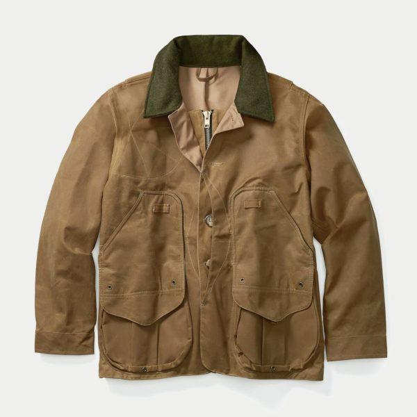 Filson Tin Cloth Field Coat Dark Tan