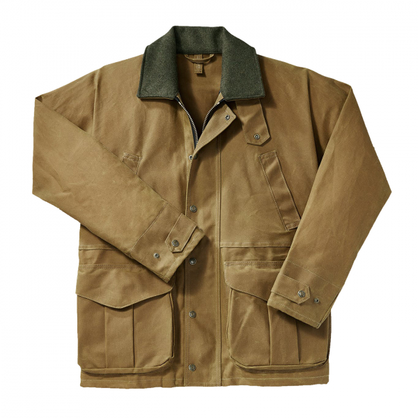 Filson Tin Cloth Field Jacket Dark Tan