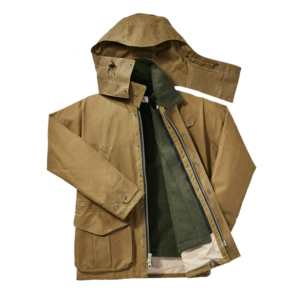 Filson Tin Cloth Field Jacket Dark Tan