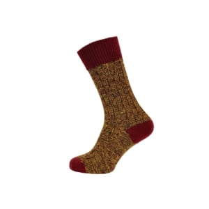 firth-rib-sock-red