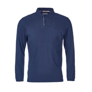 long-sleeve-polo-navy