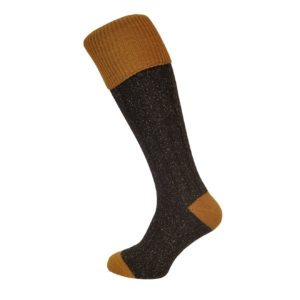 sock-134-peat-brown