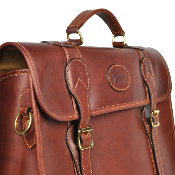 Brady Leather Briefcase Brown