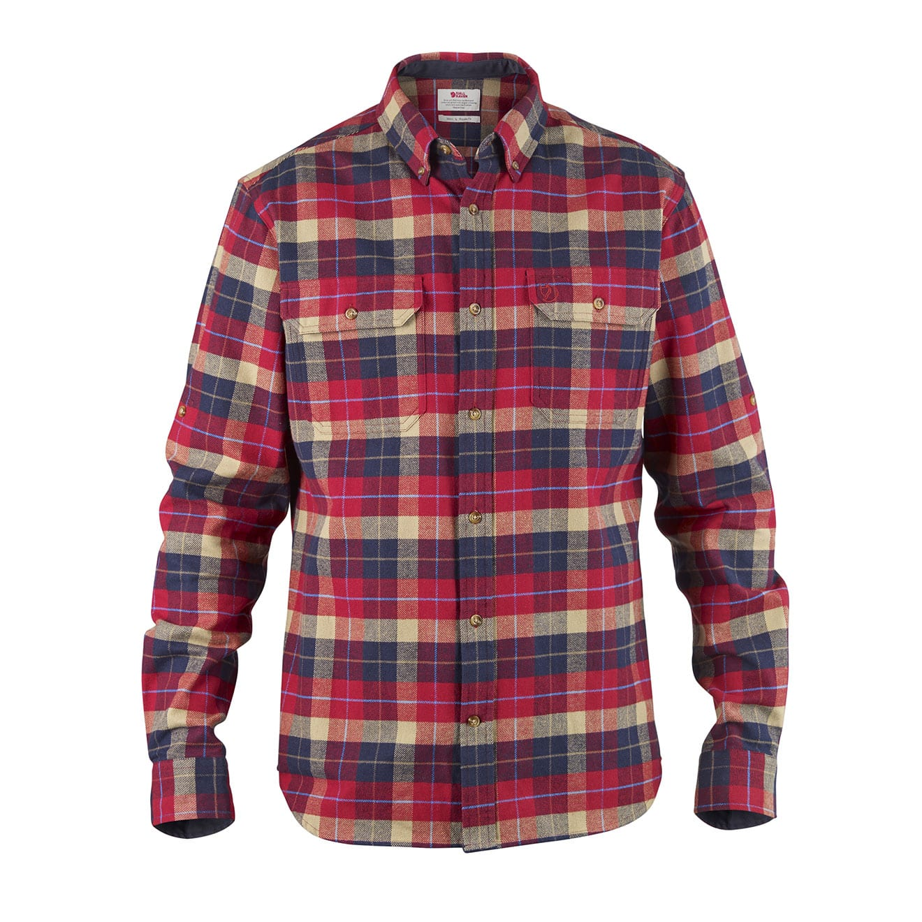 Fjallraven Singi Heavy Flannel Shirt Red