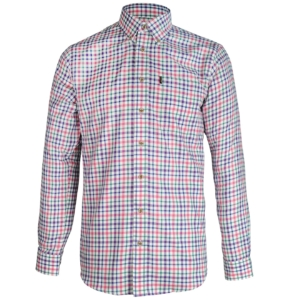 Musto Classic Button Down Shirt Pink/Purple