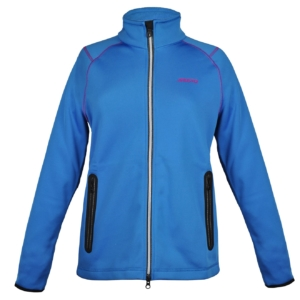 Musto Womens DWR Zip Thru Sweat Blue