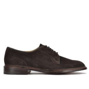 Trickers Robert Toe Suede Shoe Brown