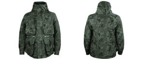 Grenfell Pembroke Jacket Front and Rear Views