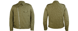 Grenfell Redding Jacket Front and Rear Views