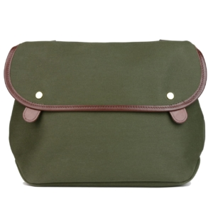 Brady Avon Bag Olive / Brown Trim
