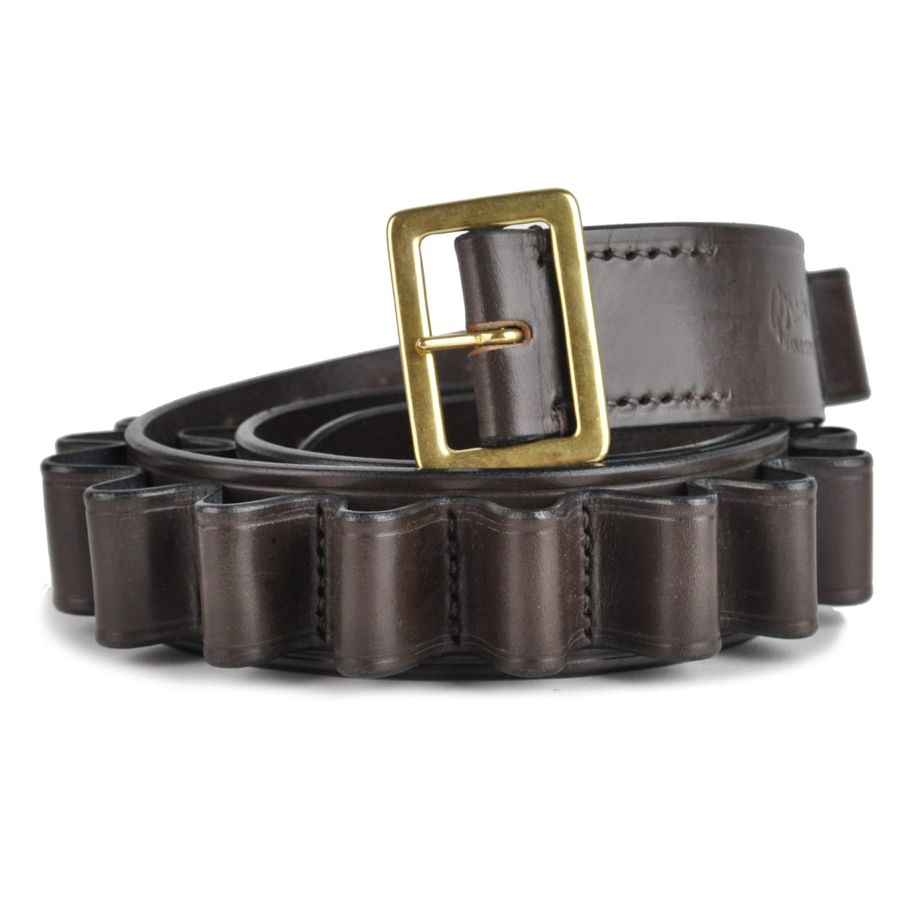 brady traditional 12 bore web and leather belt