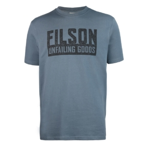 Filson Short Sleeve Outfitter Graphic T-Shirt Faded Blue