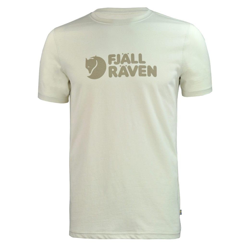 Fjallraven Logo T-Shirt Chalk White