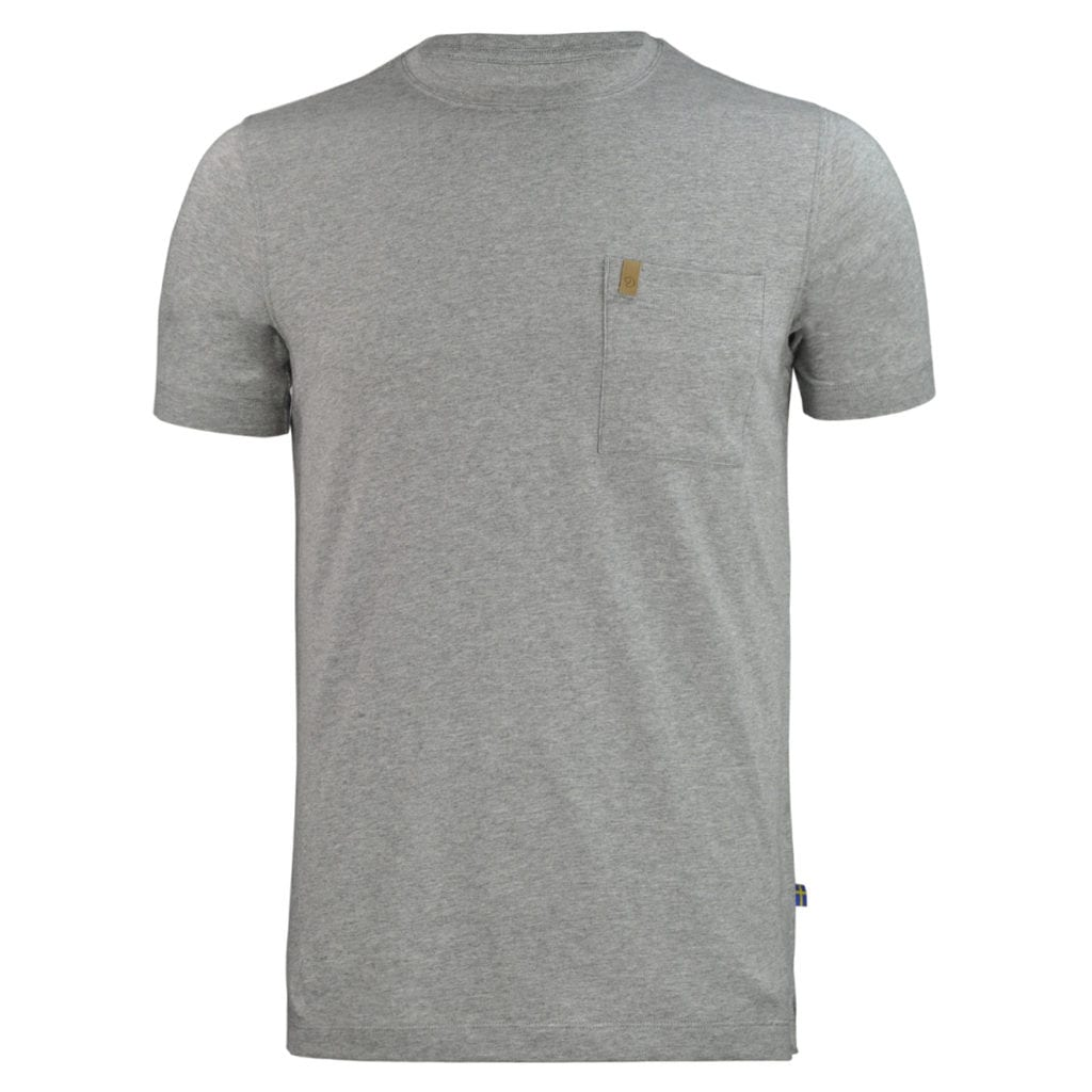 Fjallraven Ovik Pocket Short Sleeve T-Shirt Grey