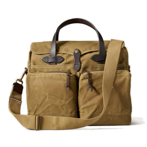 Filson 24-Hour Tin Briefcase Tan
