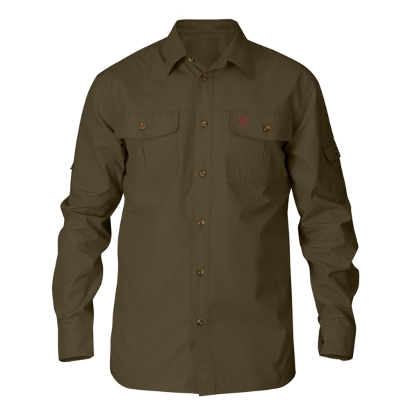 Fjallraven Singi Trekking Shirt Dark Olive