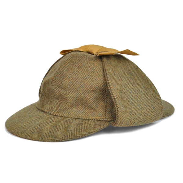 James Purdey Deer Stalker Sherlock Tweed Hat