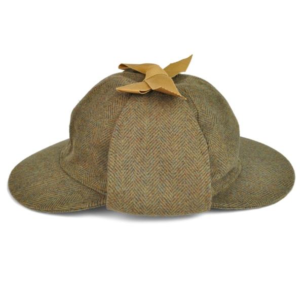 James Purdey Deer Stalker Sherlock Tweed Hat Manton