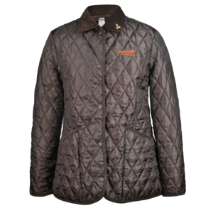 John Partridge Womens Moorland Quilted Jacket Cinammon