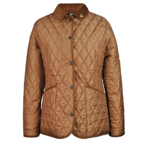 John Partridge Womens Moorland Quilted Jacket Tobacco