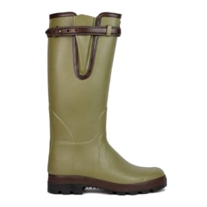 Le Chameau Vierzon Leather Lined Wellington Boots