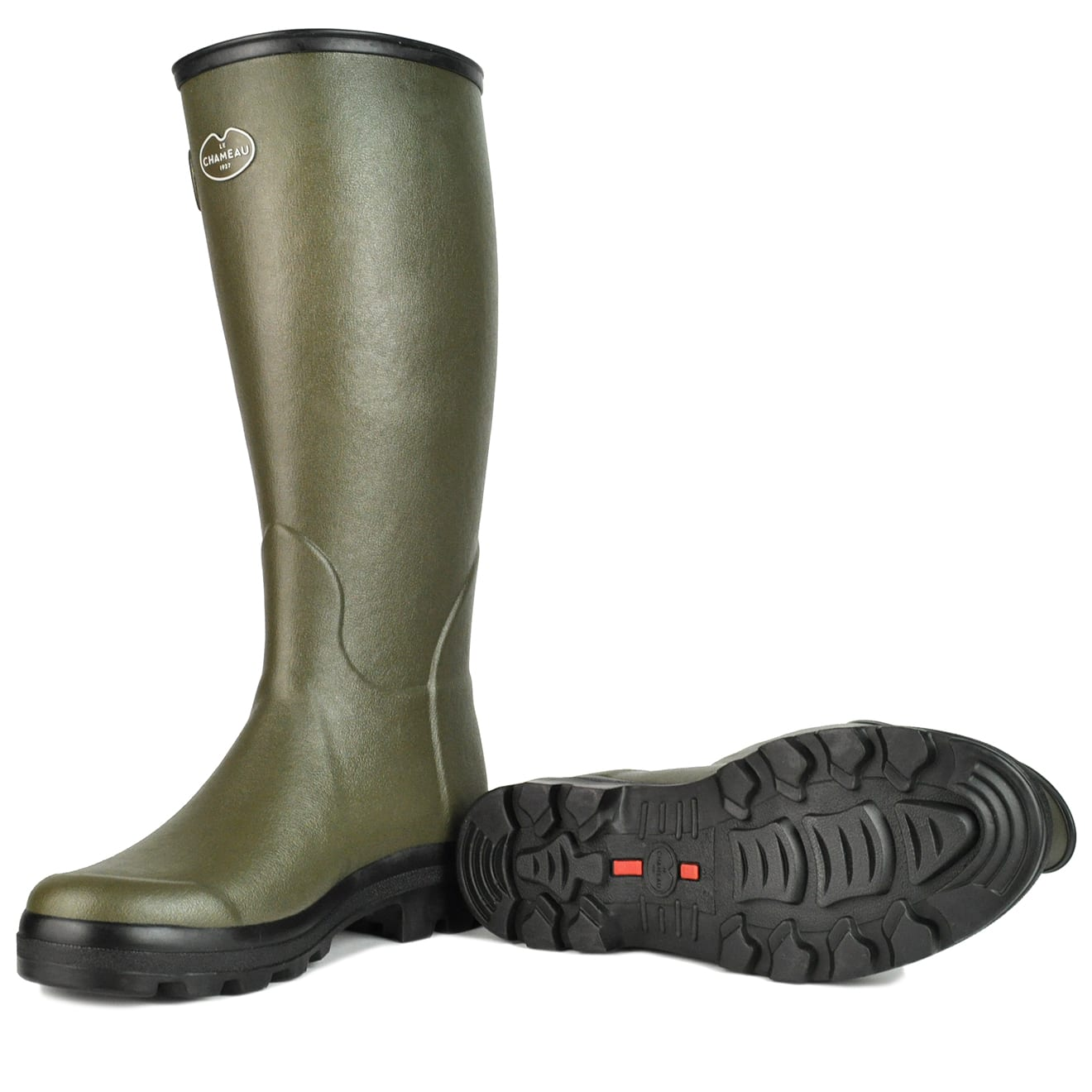 look out for online here top-rated authentic Le Chameau Vierzon Vert Wellington Boots - The Sporting Lodge