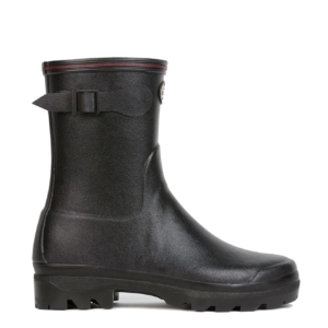 Le Chameau Womens Giverny Low Wellington Boot Black