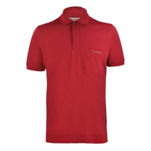 PIQUE POLO SHIRT RED