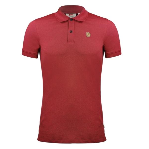 Fjallraven Ovik Polo Shirt Deep Red
